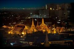 Wat Phra Kaew在曼谷,泰国 免版税库存照片
