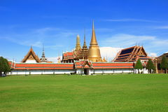 Wat Phra Kaew. ฺ temple Bangkok Thailand royalty free stock images