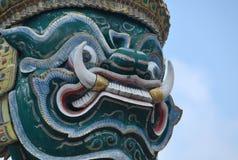 Wat Phra Kaew à Bangkok ou le temple d'Emerald Buddha Photos stock