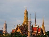 Wat Phra Kaew à Bangkok, Thaïlande Photo libre de droits