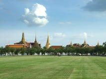 Wat Phra Kaew à Bangkok, Thaïlande Images libres de droits