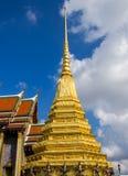 Wat Phra Kaew è uno della destinazione dei turisti più popolare dentro Fotografia Stock Libera da Diritti