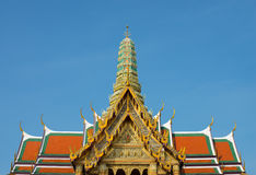 Wat Phra Kaew-Überblick Stockbild