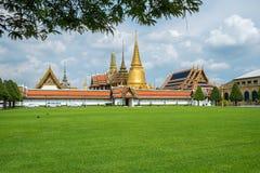 Wat Phra Kaew, świątynia Szmaragdowy Buddha Zdjęcia Stock