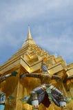 Wat Phra Kaew, świątynia Szmaragdowy Buddha Phra Si Rattana Satsadaram Zdjęcie Stock