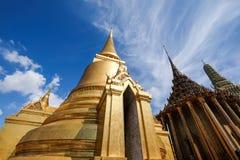Wat Phra Kaew świątynia Szmaragdowy Buddha w Bangkok, Tajlandia Obraz Stock