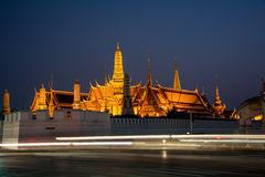Wat Phra Kaew, ναός της Μπανγκόκ Ταϊλάνδη 5 Στοκ φωτογραφία με δικαίωμα ελεύθερης χρήσης