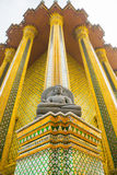 Wat Phra Kaew, ναός του σμαραγδένιου Βούδα, Μπανγκόκ Στοκ Εικόνα