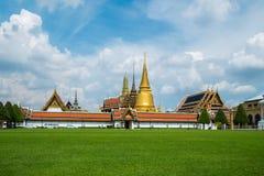 Wat Phra Kaew, ναός του σμαραγδένιου Βούδα Στοκ Εικόνα