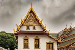 Wat Phra Kaew ο βουδιστικός ναός σύνθετος στη Μπανγκόκ, Ταϊλάνδη στοκ εικόνα