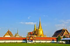 Wat Phra Kaew Ταϊλάνδη Στοκ εικόνες με δικαίωμα ελεύθερης χρήσης