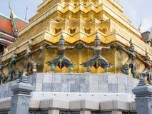 Wat Phra Kaew (το μεγάλο παλάτι) της Ταϊλάνδης Στοκ φωτογραφία με δικαίωμα ελεύθερης χρήσης