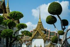 Wat Phra Kaew, Бангкок, Таиланд Стоковые Фото