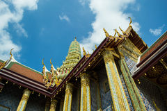 Wat Phra Kaew, Бангкок, Таиланд Стоковые Изображения