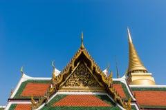 Wat Phra Kaew висок изумрудного Будды, Бангкок, Таиланд Стоковые Фото