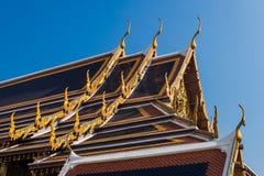 Wat Phra Kaew висок изумрудного Будды, Бангкок, Таиланд Стоковое фото RF