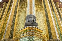 Wat Phra Kaew, висок изумрудного Будды, Бангкок Стоковые Изображения RF