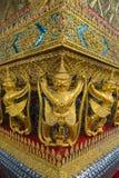 Wat Phra Kaew, висок изумрудного Будды, Бангкок Стоковое Фото