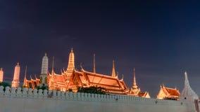 Wat Phra Kaew (висок изумрудного Будды) Стоковое Фото