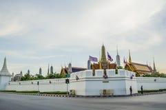 Wat Phra Kaew (висок изумрудного Будды) Стоковые Фотографии RF