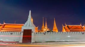 Wat Phra Kaew (висок изумрудного Будды) Стоковое Изображение