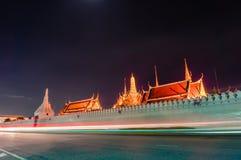 Wat Phra Kaew (висок изумрудного Будды) Стоковая Фотография