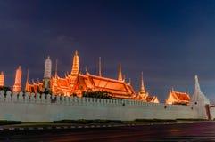 Wat Phra Kaew (висок изумрудного Будды) Стоковое фото RF