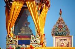 Wat Phra Kaew, висок изумрудного Будды Phra Si Rattana Satsadaram Стоковое Изображение RF