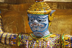 Wat Phra Kaew в Бангкоке или виске изумрудного Будды Стоковые Фотографии RF