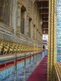 Wat Phra Kaew (грандиозный дворец) Таиланда Стоковое Фото