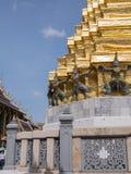 Wat Phra Kaew (грандиозный дворец) Таиланда Стоковые Фотографии RF