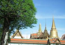 Wat Phra Kaew на Бангкоке Стоковые Изображения