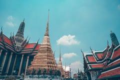 Wat Phra Kaew 库存照片