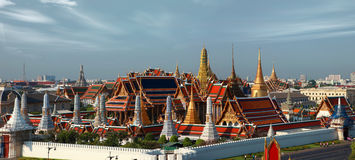 Wat Phra Kaew. In bangkok, Thailand royalty free stock photo