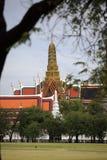 Wat Phra Kaew. In bangkok, Thailand stock photography