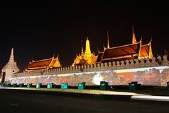 Wat Phra Kaew. Arkivbild