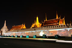 Wat Phra Kaew. Stockfotografie