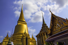 Wat Phra Kaew Royalty-vrije Stock Foto's
