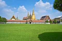 Wat Phra Kaew Ancient temple. Bangkok, Thailand - Sep 20, 2015: Wat Phra Kaew. Temple of the Emerald Buddha It is located in the historic centre of Bangkok ( Royalty Free Stock Photography