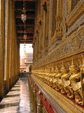 Wat Phra Kaew, Bangkok. Wat Phra Kaew in Royal Palace, Bangkok royalty free stock photo