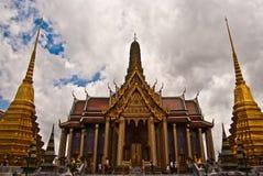 Wat Phra Kaew Bangkok Immagine Stock Libera da Diritti