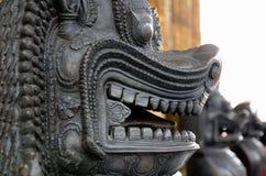 Wat Phra Kaew Bangkok fotografering för bildbyråer