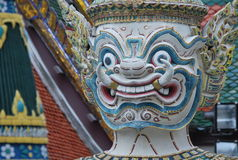 Wat Phra Kaew a Bangkok o il tempio di Emerald Buddha Immagine Stock Libera da Diritti