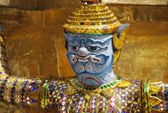 Wat Phra Kaew a Bangkok o il tempio di Emerald Buddha Fotografie Stock Libere da Diritti