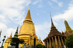 Wat Phra Kaew, Bangkok, Tailandia Fotografia Stock