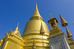 Wat Phra Kaew Bangkok, Tailandia Imagen de archivo libre de regalías