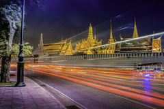 Wat Phra Kaew a Bangkok Tailandia Fotografia Stock Libera da Diritti