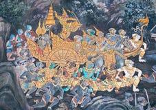 Wat Phra Kaew a Bangkok, Tailandia Fotografie Stock Libere da Diritti