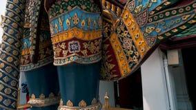 Wat Phra Kaew, Bangkok, Tailandia almacen de video