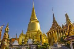 Wat Phra Kaew Bangkok, Tajlandia Obrazy Royalty Free